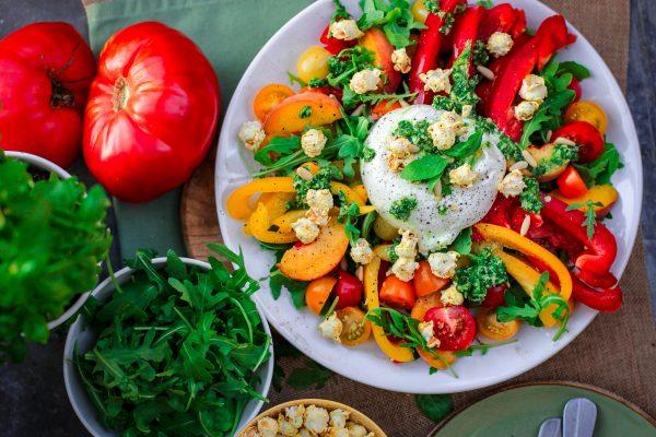 a healthy salad bowl