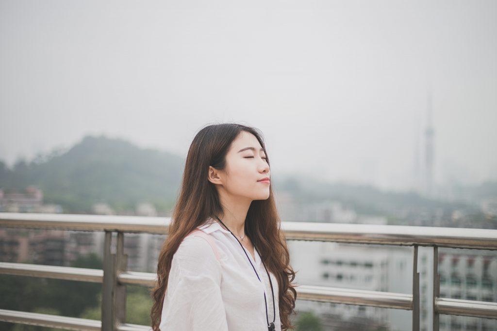 Calm lady