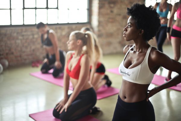 a picture of women in the gym